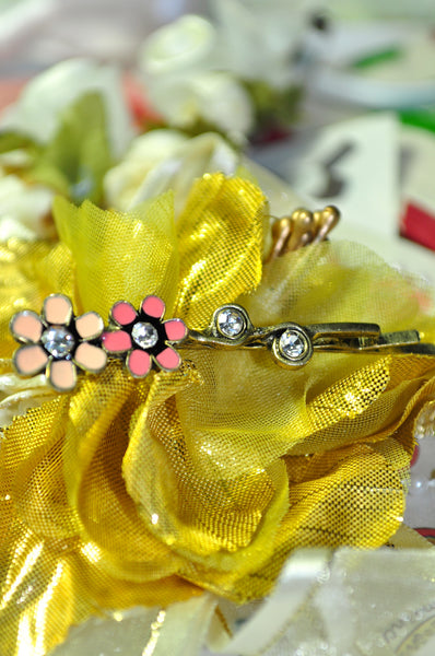 Pink Lady Hair Pin