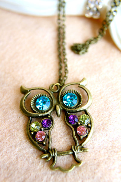 A Vintage Hoot Necklace