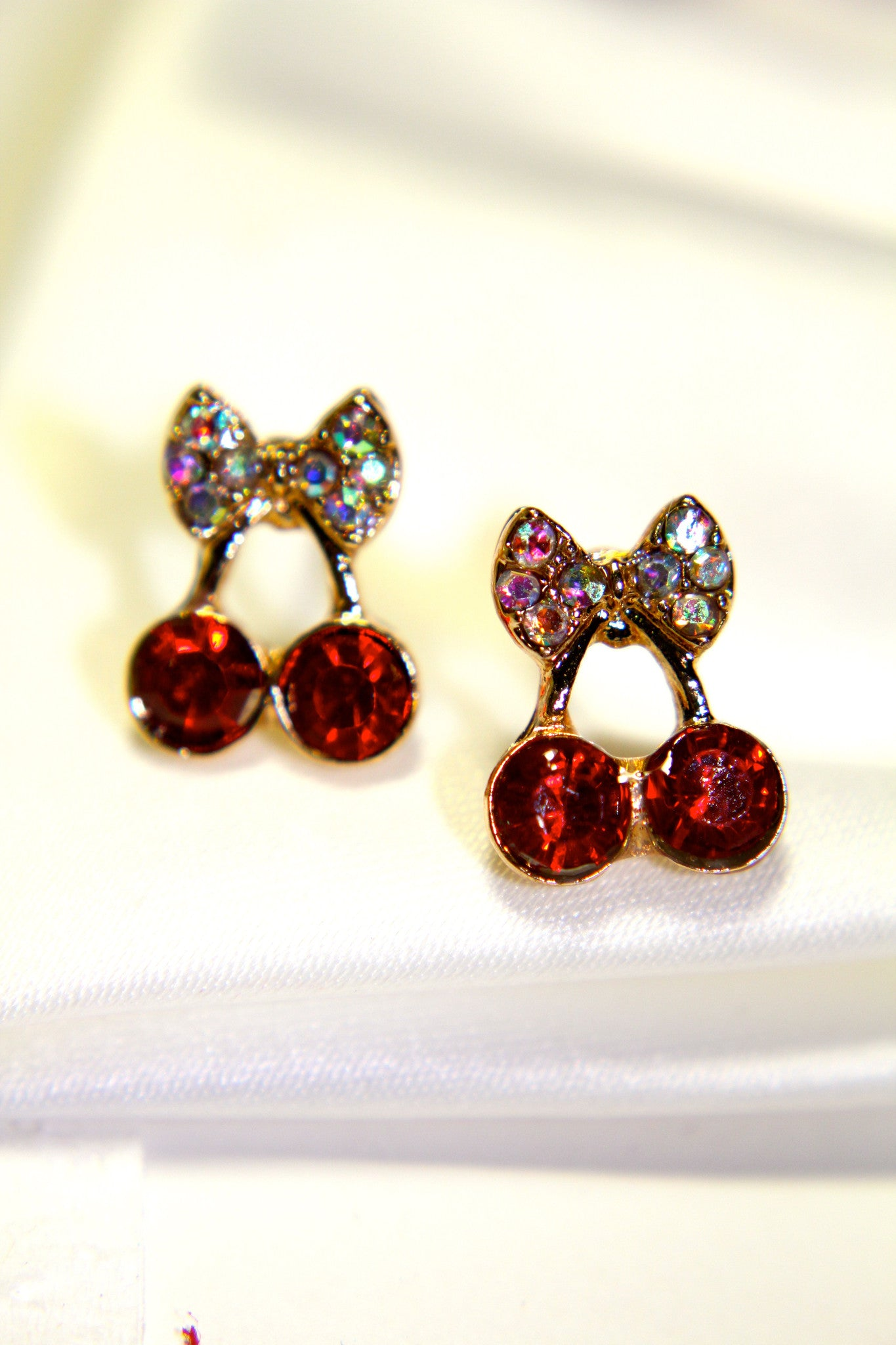 Sweet Cherry Duo Earrings