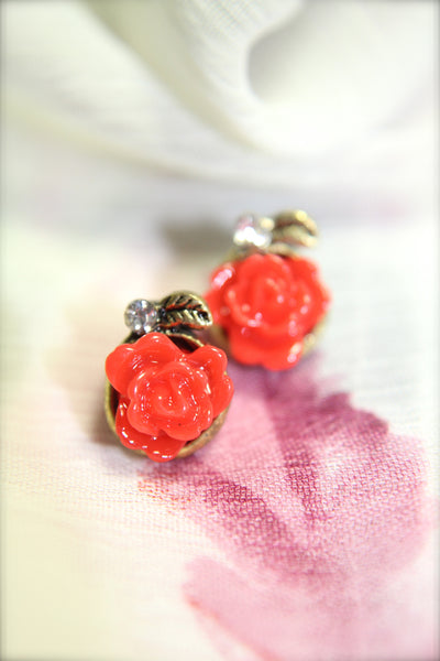 The Last Rose Earrings