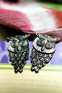 Scholar the Owl Earring