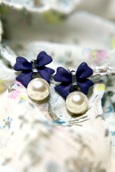 Butterfly Pearldrop Earrings