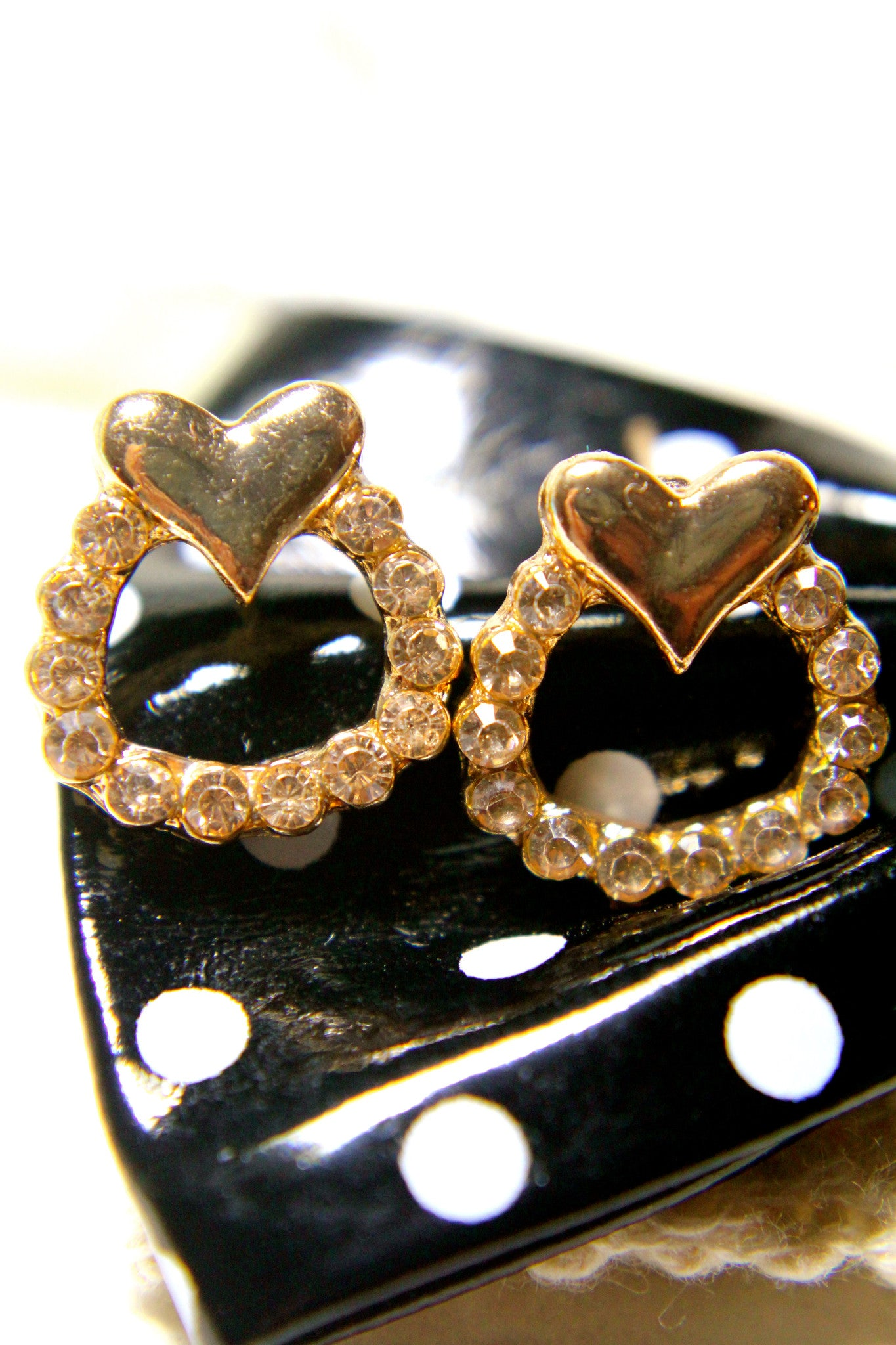 Heartfelt Wreath Earrings
