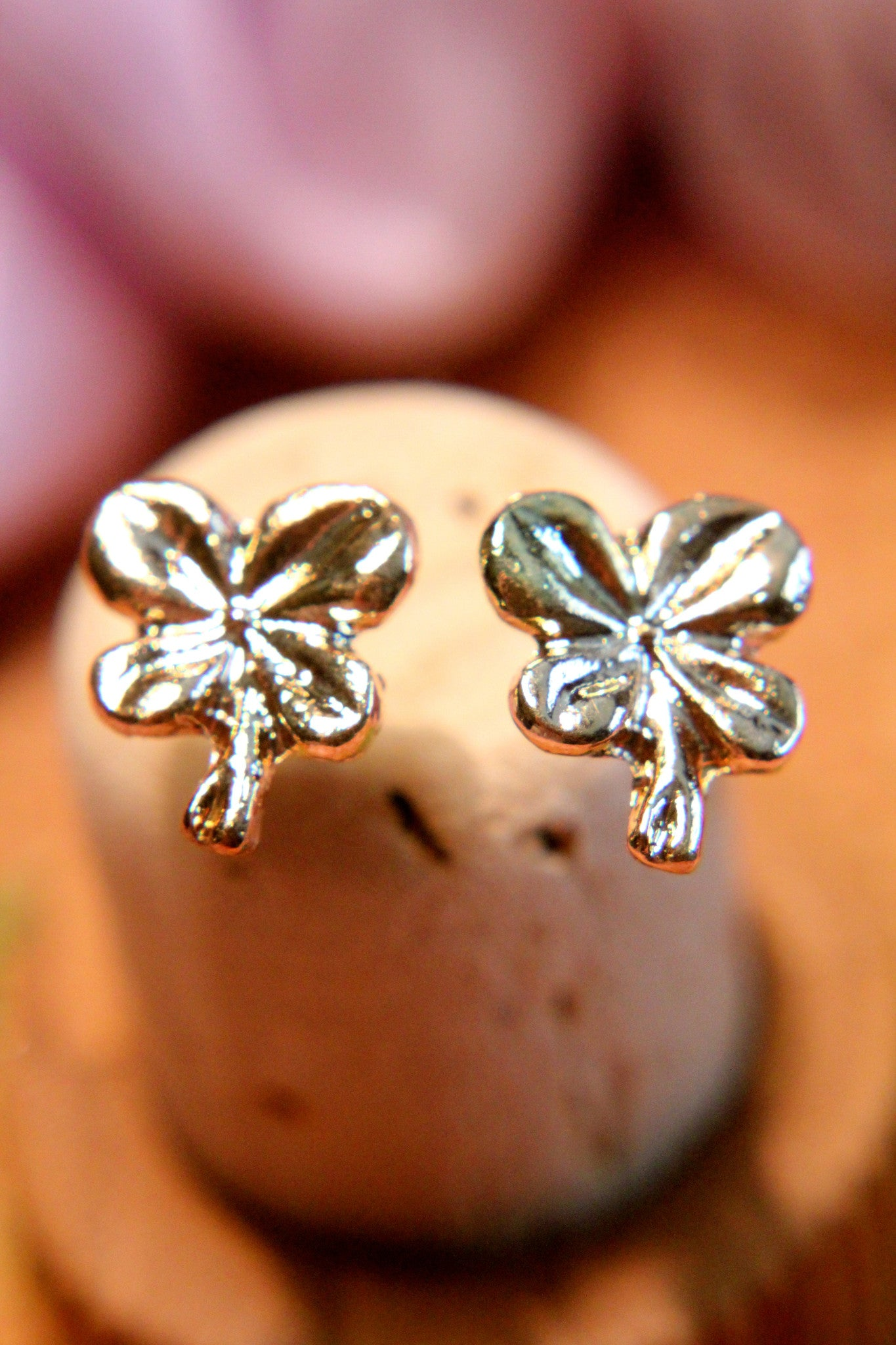 Wish Upon a Clover Earring