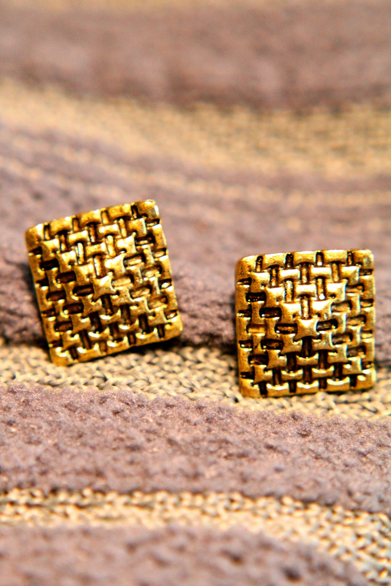 Pyramids Earring
