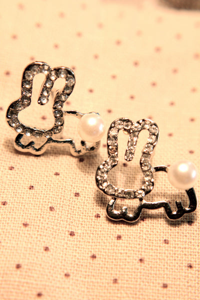Crazy for Bunnies Earring