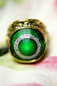 The Old Queen's Emerald Ring