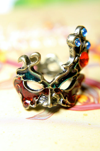 The Gothic Masquerade Ring