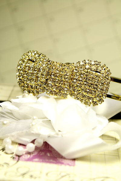 Diamond Bow Bracelet