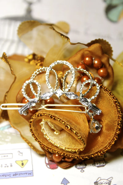 Pearl Crown Hairpin