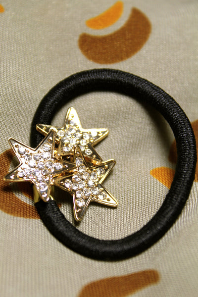 Triple Stars Scrunchie