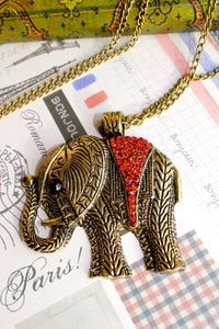 The Mystical Elephant Necklace