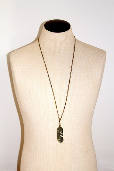 The Lone Leaf Necklace