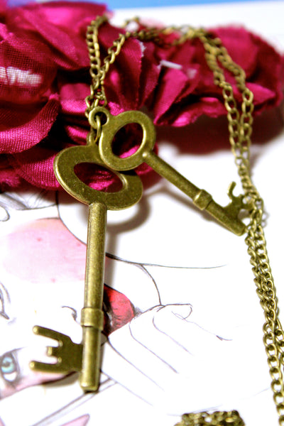 Key Duo Sweater Chain