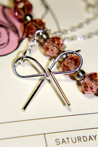 Simple and Sweet Bow Necklace