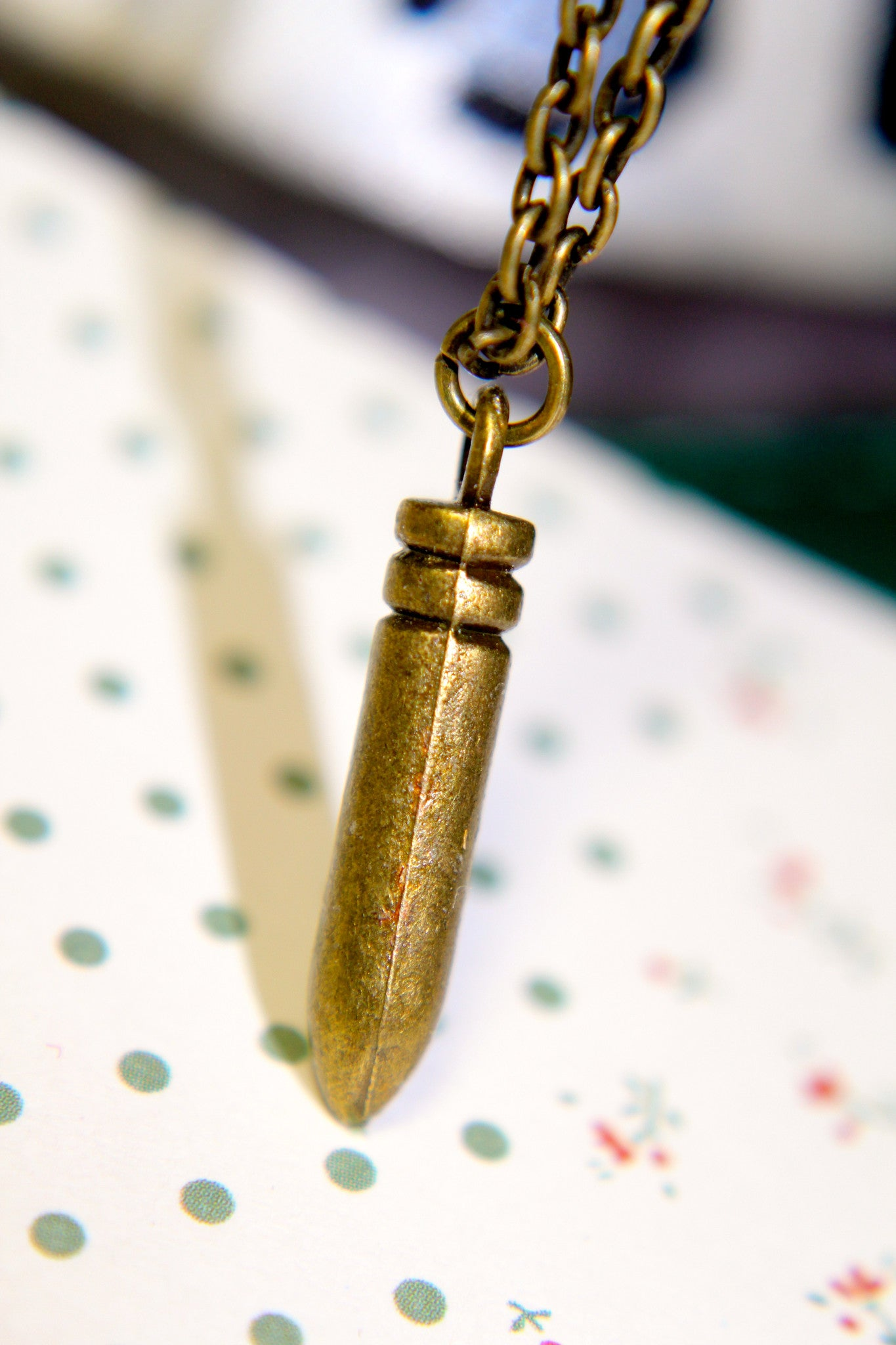 Bullet Proof Necklace