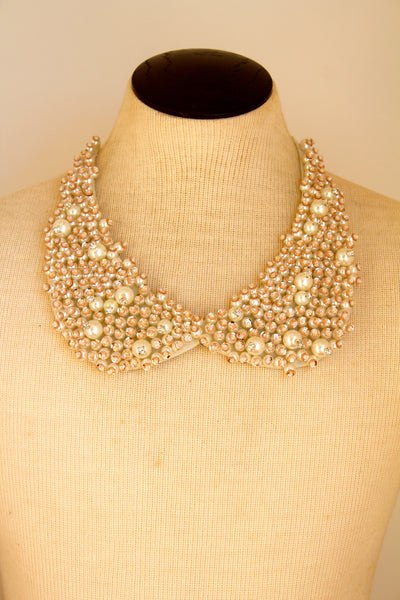 Be Smittened Bib Necklace