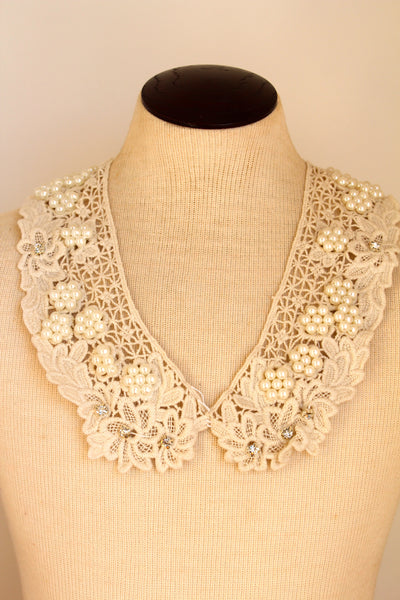Spring Time Bib Necklace