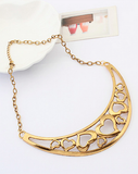Hearts A Wandering Statement Necklace
