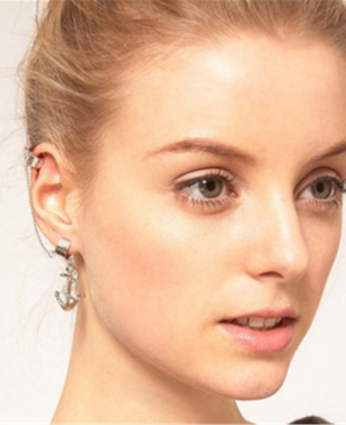 Anchor Earring Cuff