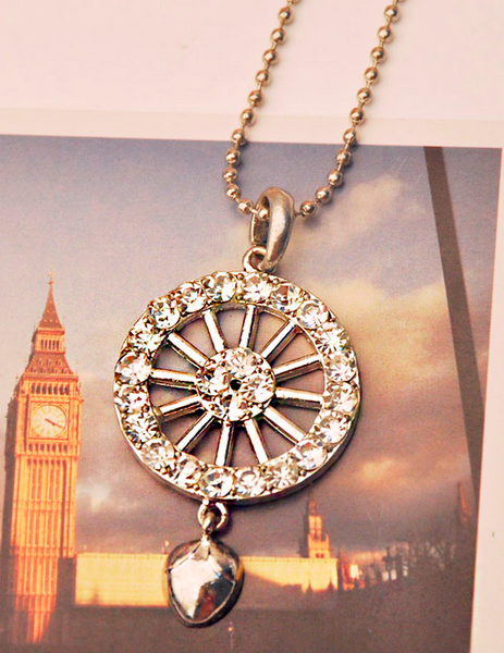 Spin the Wheel Necklace