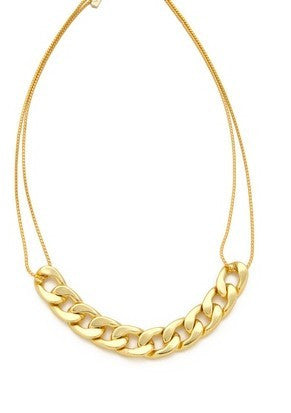 Simply Golden Knotted Necklace
