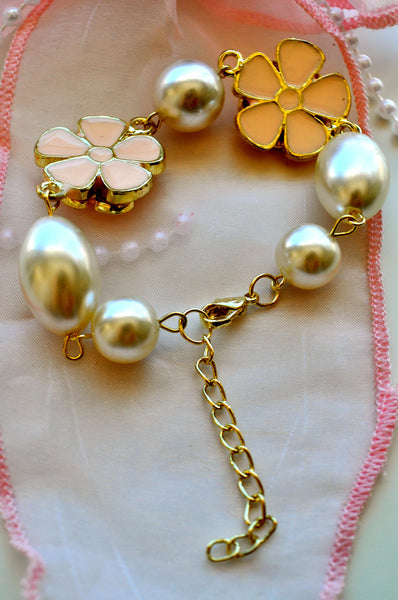 Sweet Camellias and Pearls
