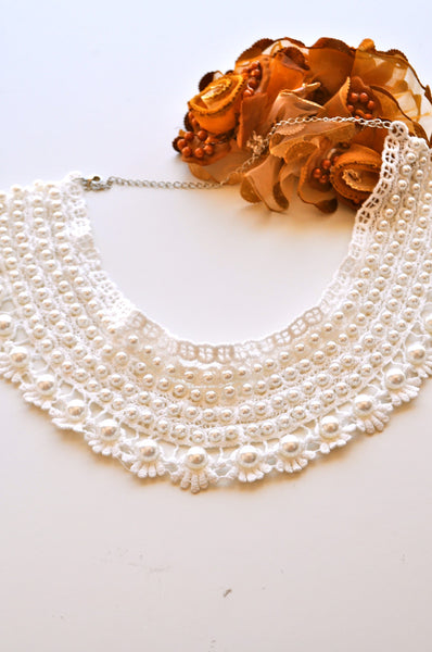 My Fair Lady Bib Necklace