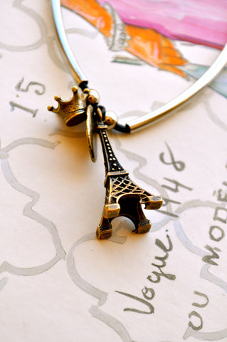 A Piece of Paris Necklace