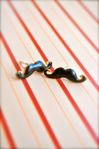 Little Mischievous Mustache Earrings