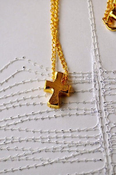 My Golden Cross Necklace