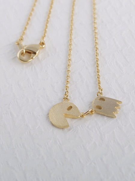Pac Man Necklace