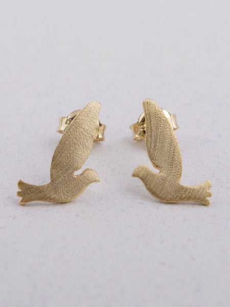 Bird Fly High Earrings