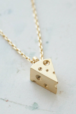 3D Cheese Necklace