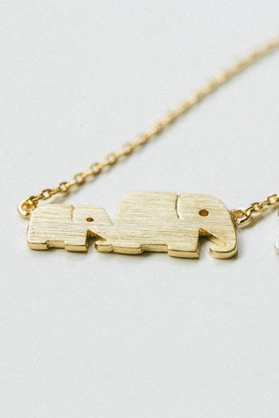 Elephant Mommy Love Necklace