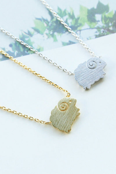 Springy Sheep Necklace