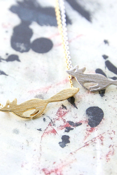 Cunning Fox Necklace