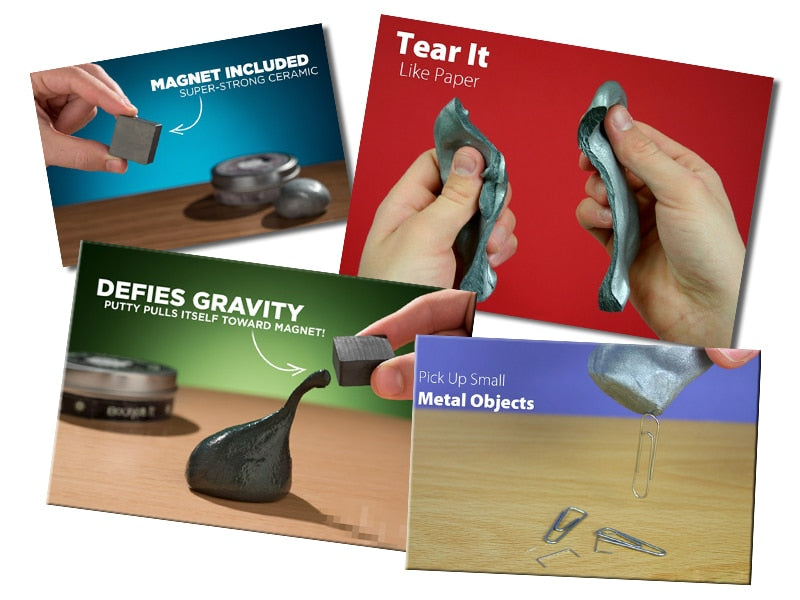 Magnetic Smart Putty