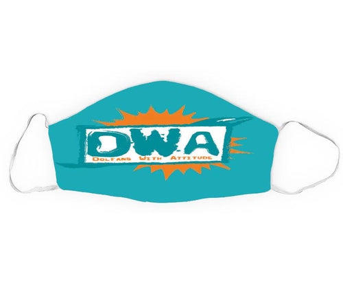 DWA sublimated face Mask