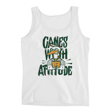 Canes With Attitude Ladies' Tank