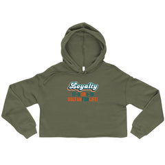 Dolfan Loyalty Crop Hoodie for Women