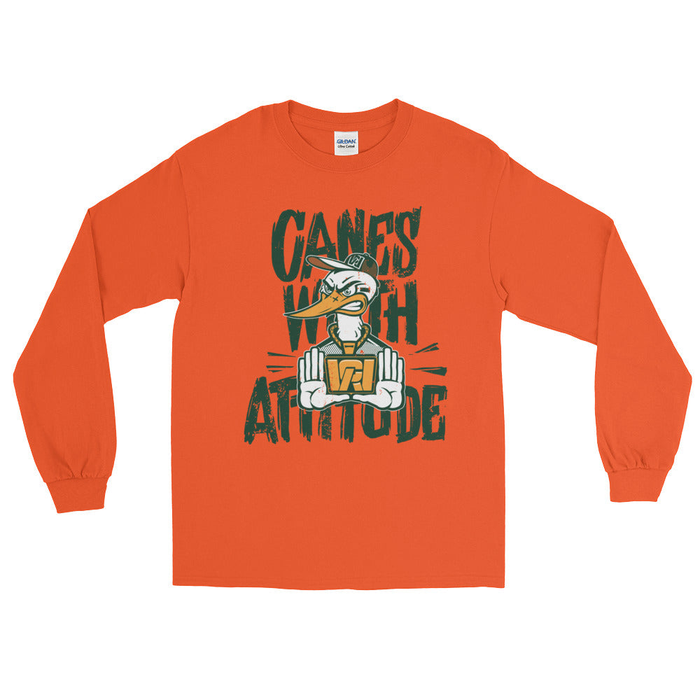 Canes With Attitude *CWA* Long Sleeve T-Shirt