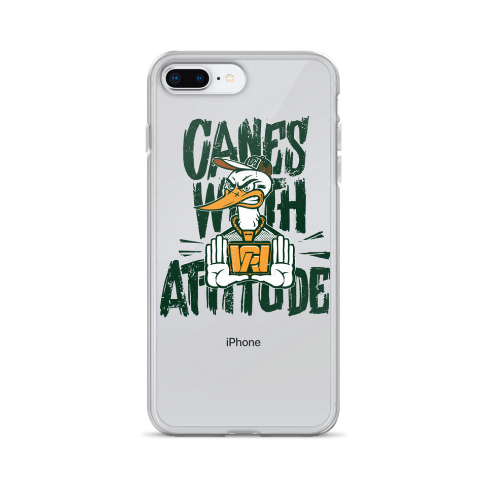 Canes With Attitude *CWA* iPhone Case
