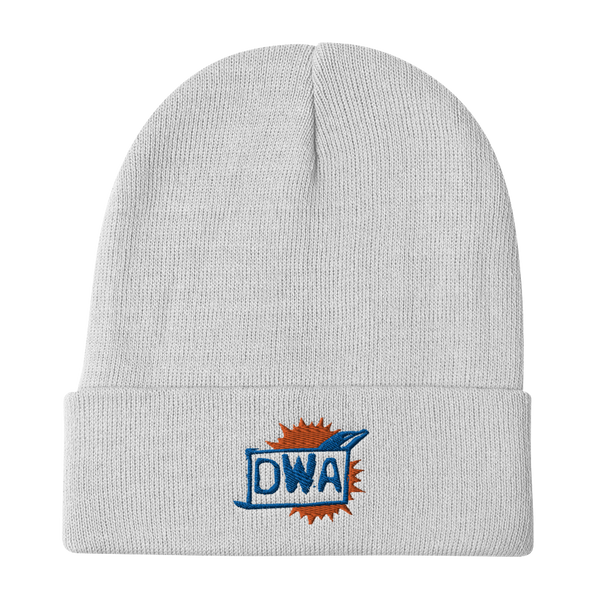 DWA Embroidered Beanie