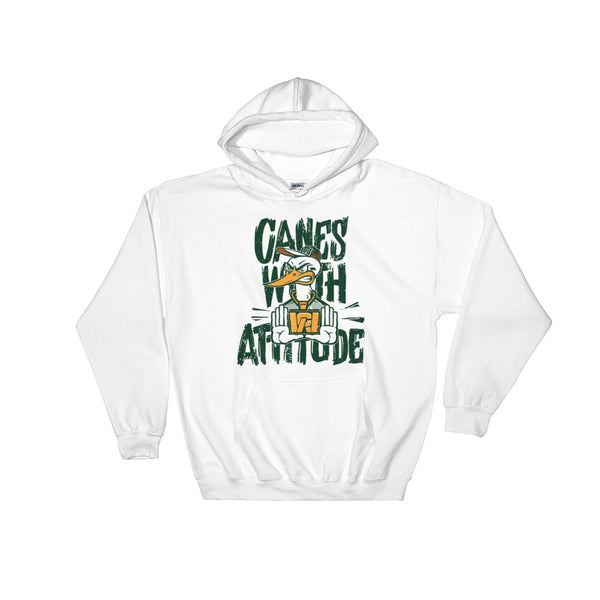 Canes With Attitude *CWA* Hooded Sweatshirt