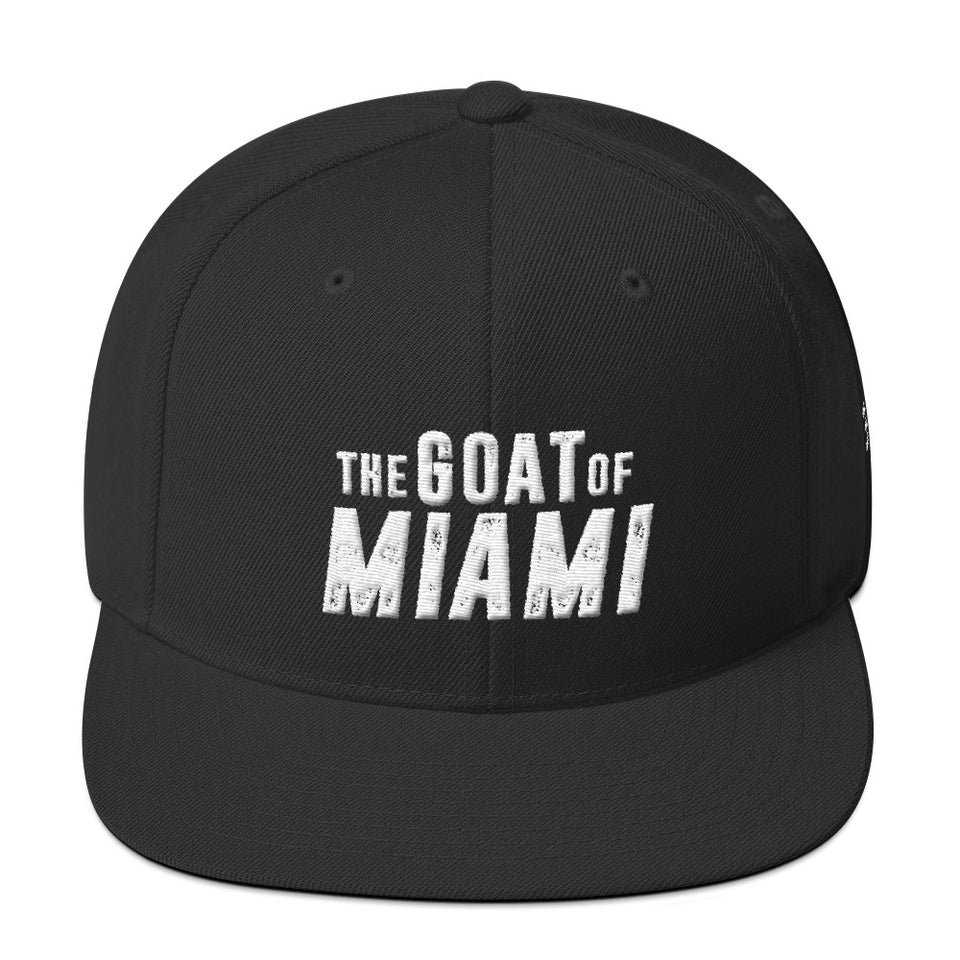 The Goat Of Miami Snapback Hat