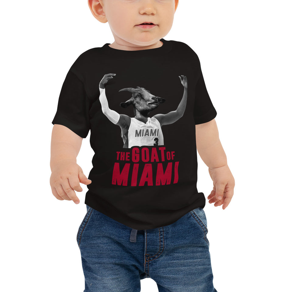 The Goat Of Miami Baby Jersey Short Sleeve Tee