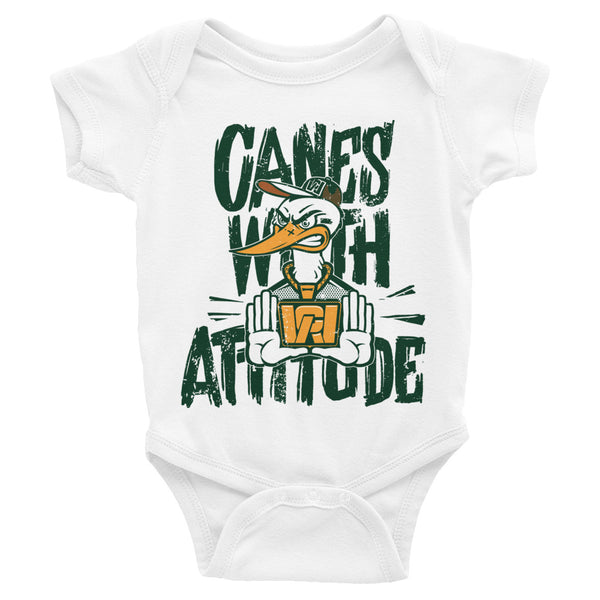 Canes With Attitude *CWA* Infant Bodysuit