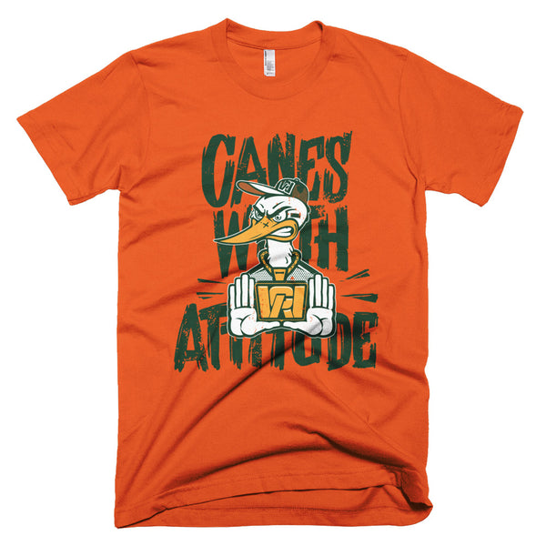 Canes With Attitude *CWA* Short-Sleeve T-Shirt