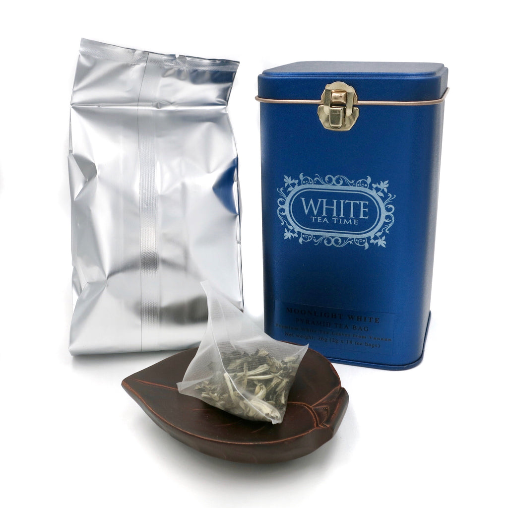 Moonlight White (Pyramid Tea Bag in Tin)